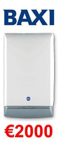 Baxi Megaflo 24 HE System Gas Boiler + Heating Controls