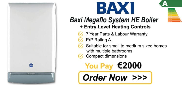 Baxi Megaflo 24 HE System Gas Boiler