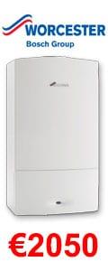 Worcester Bosch Greenstar 24i System Gas Boiler + Heating Controls