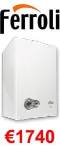 Ferroli 25S System Boiler + Heating Controls