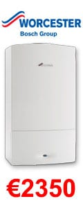 Worcester Bosch Greenstar 24i System Gas Boiler + Heating Controls