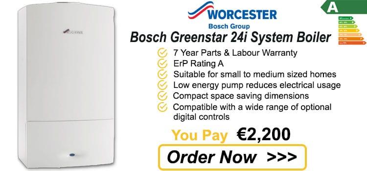 Worcester Bosch Greenstar 24i System Boiler