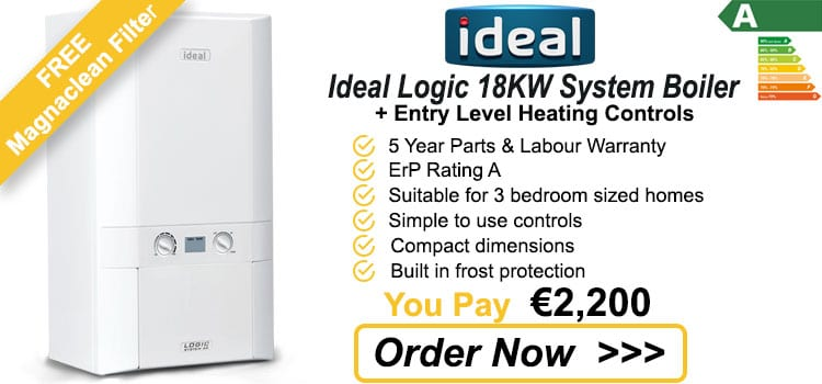 Ideal Logic 18 KW System Gas Boiler