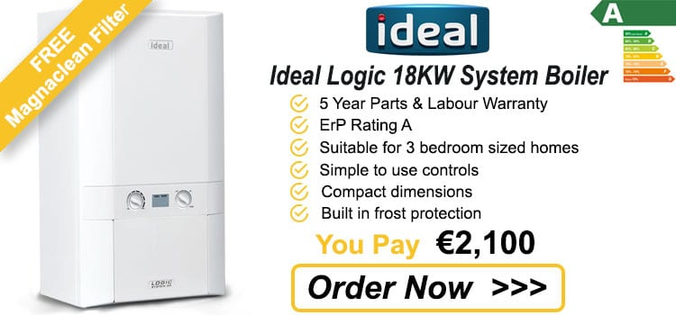 Ideal Logic 18 KW System Boiler