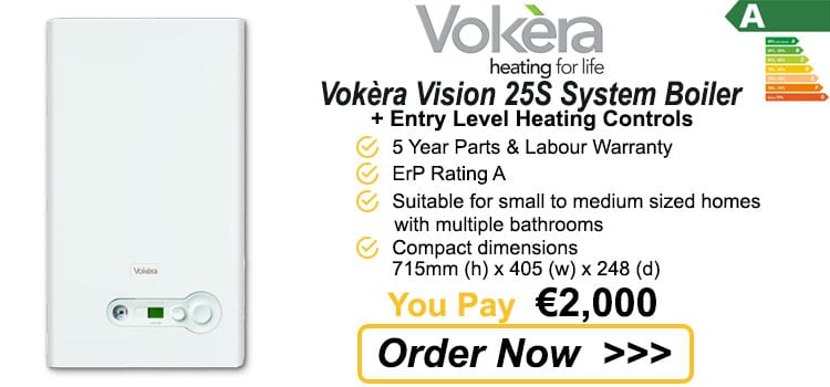 Vokera Vision 25S System Gas Boiler