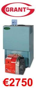 Grant Euroflame Boiler House 15 – 21 KW Oil Boiler