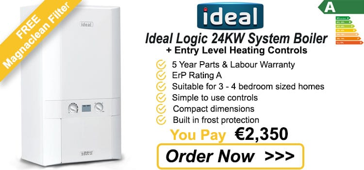 Ideal Logic 24 KW System Gas Boiler