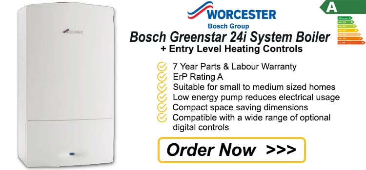 Worcester Bosch Greenstar 24i System Gas Boiler