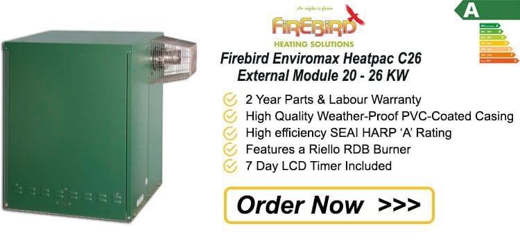Firebird Enviromax Heatpac C26 External Module 20 - 26 KW