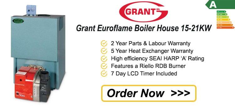Grant Euroflame Boiler House 15 - 21 KW