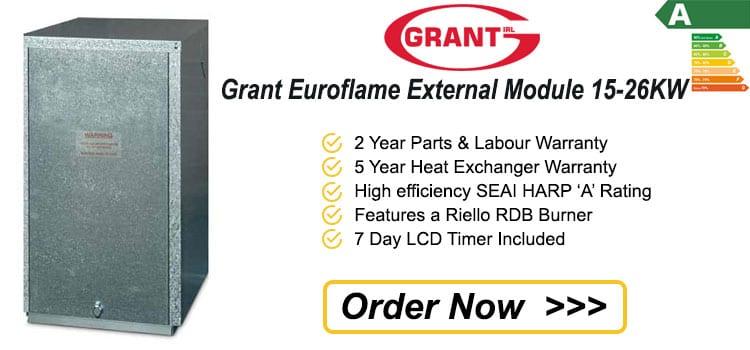 Grant Euroflame External Module 15 - 26 KW