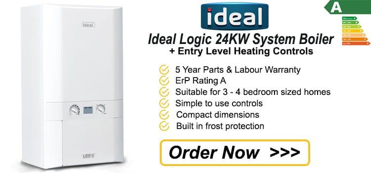 Ideal Logic 24 KW System Gas Boiler