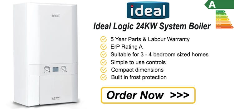 Ideal Logic 24 KW System Boiler